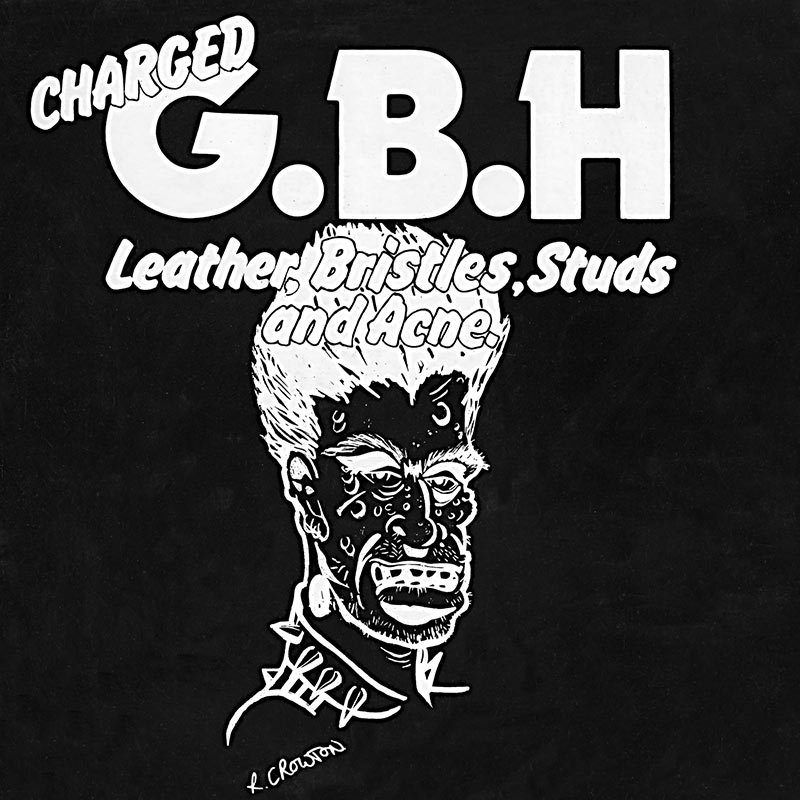 Charged GBH – Leather, Bristles, Studs and Acne.