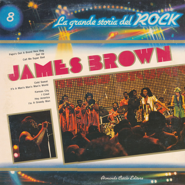 "James Brown – Serie ""La Grande Storia Del Rock"""