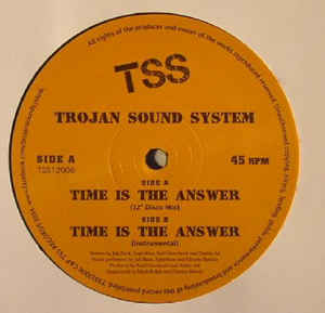Trojan Sound System – Time Is The Answer