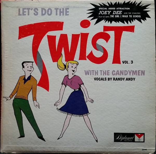 The Candymen Vocals By Randy Andy – Let's Do The Twist Vol. 3