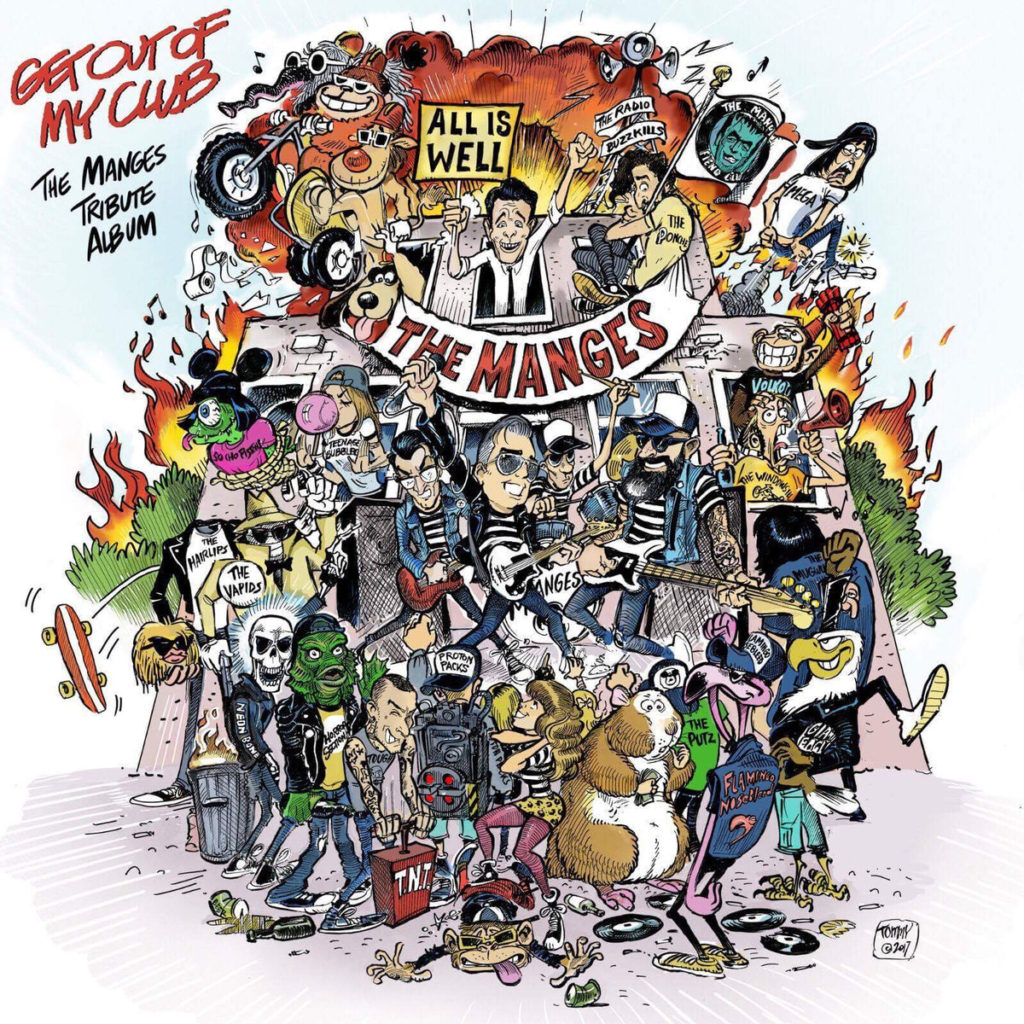 Various – Get Out Of My Club, Manges Tribute Album