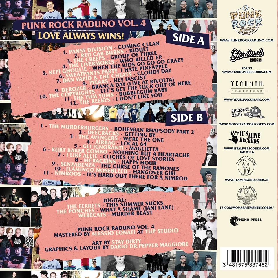 V/A – Punk Rock Raduno Vol.4