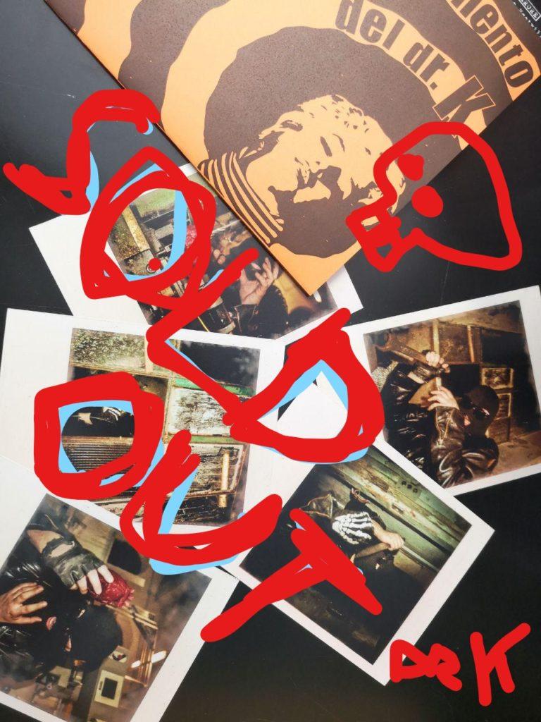 L'esperimento del Dr. K 5 polaroid Bundle