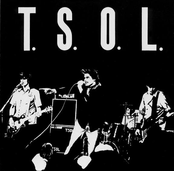 T.S.O.L. .s/t